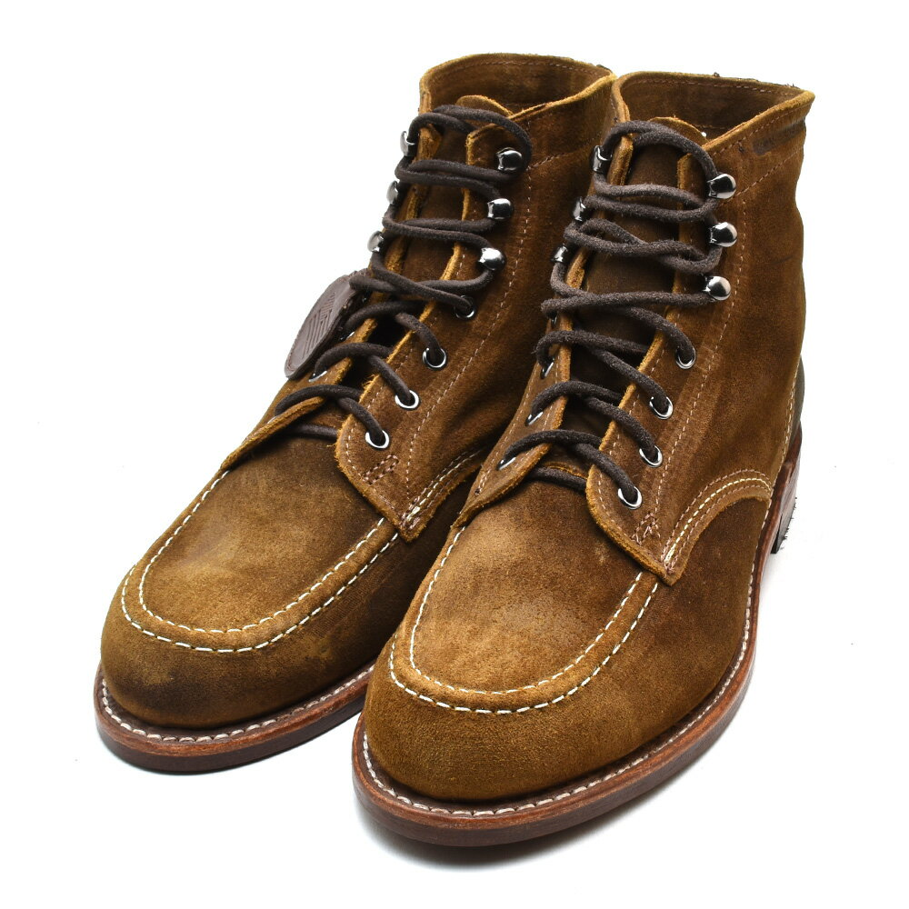 ウルヴァリン 1000マイルブーツ 6インチブーツ ダークタン スエード メンズ ブーツ WOLVERINE W40561 1000 MILE 6INCH BOOT 1940 APRON  DARK TAN SUEDE