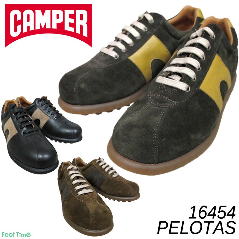 カンペール ペロータス・アリエル CAMPER PELOTAS ARIEL #16454 COCO-205 MALMO-206 NEGRO-208 メンズ 天然皮革 スニーカー 送料無料