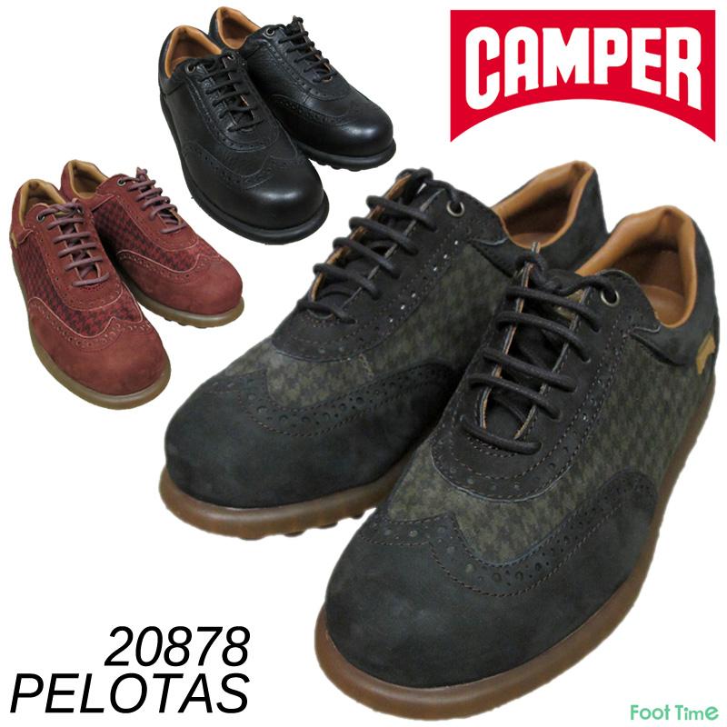 カンペール ペロータス・アリエル CAMPER PELOTAS ARIEL #20878 POTTERY-031 MALMO-032 NEGRO-033 レディース 天然皮革 スニーカー 商品 『送料無料』
