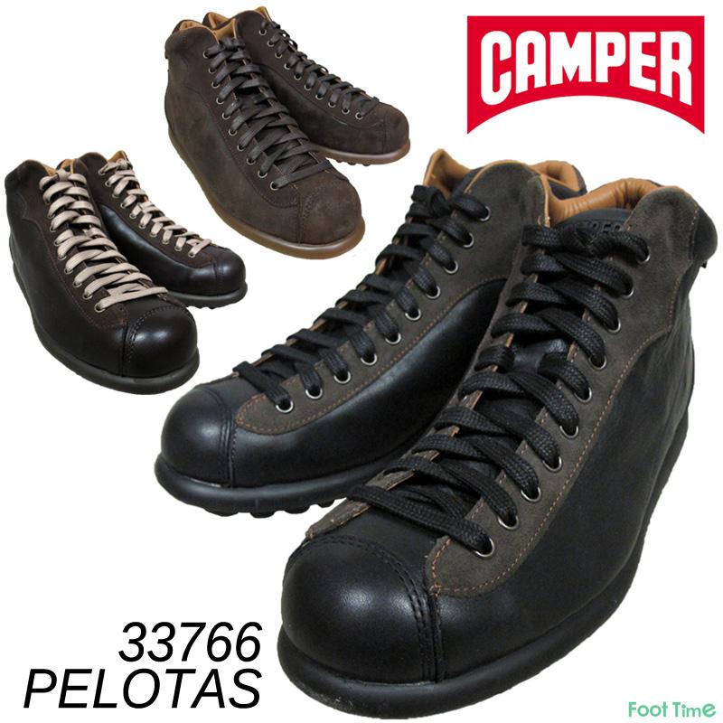 カンペール ペロータス・アリエル CAMPER PELOTAS ARIEL #33766 NEGRO-083 KENIA-084 RAIZ-085 メンズ 天然皮革 スニーカー