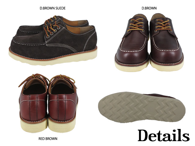 サパーブ Oxford moccasin SUPERB OXFORD MOCCASIN 8 COLORS #980912