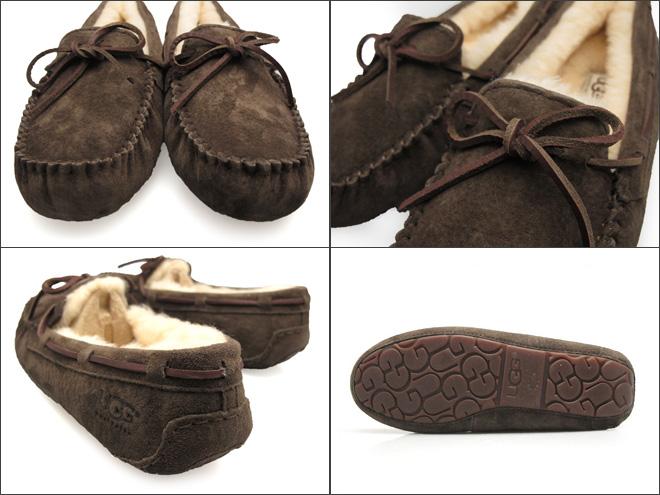 Ugg Dakota 羊皮皮鞋 UGG DAKOTA 5 颜色 BLK/輋/ESP/PWTR/选项卡