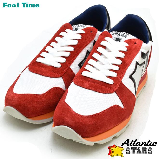Atrantic STARS SIRIUS アトランティックスターズ シリウス WHITE/RED ホワイト/レッド RB-85B 靴 メンズ靴 スニーカー