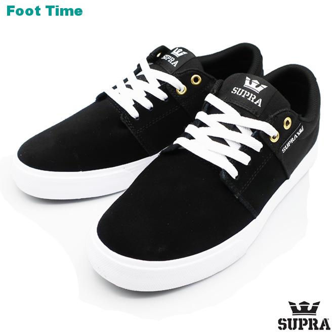 998938aa50 Surpra Stax bulk II SUPRA STACKS VULC II black / black / white BLACK/WHITE  ...