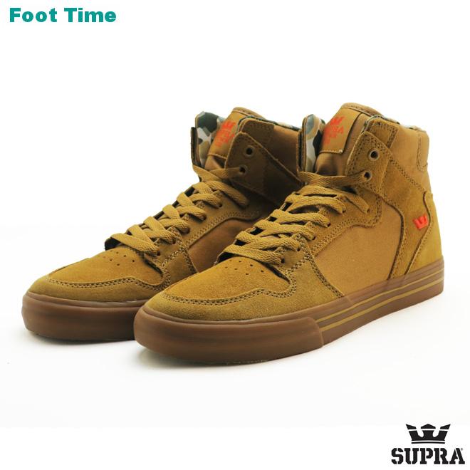 online store 3d00f 0ae21 Surpra Vader SUPRA VAIDER men skating sneakers tongue   light gum TAN LT  GUM 08044 ...