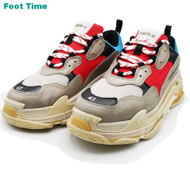 Balenciaga Triple S Sneakers on feet