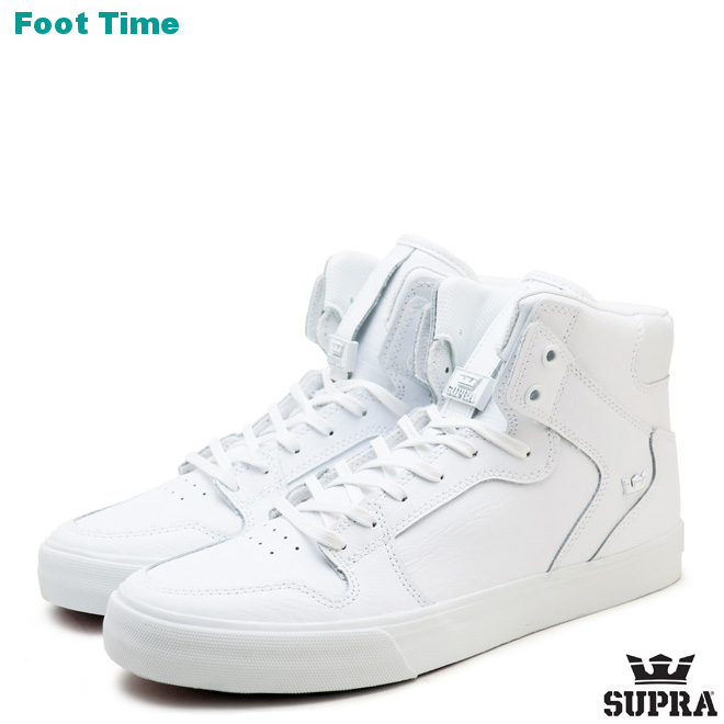 Surpra Vader classical music SUPRA VAIDER CLASSICS white white red WHITEWHITERED 08201 149 S28295 men gap Dis skating sneakers