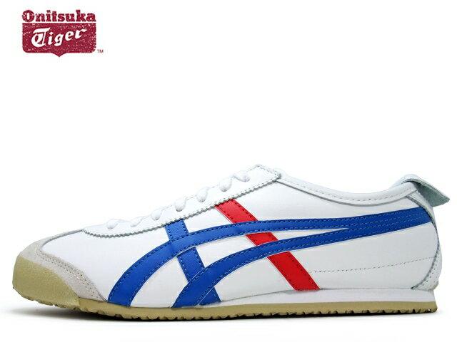 オニツカタイガー メキシコ66 Onituka Tiger MEXICO 66 0146 ホワイト/ブルー/レッドWHITE/BLUE/RED メンズ レディース スニーカー