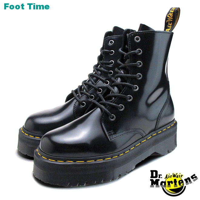 f1d8c0004719 In the promise of Dr. Martens 8 hole boots Jaden Dr.MARTENS JADON 8EYE BOOT  BLACK 15265001 mens Womens unisex boots tricolor arrived after views