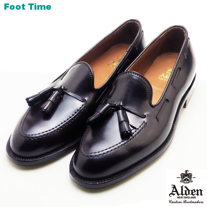 e30a87476f552 Alden tassel moccasins loafer ALDEN TASSEL MOCCASIN LOAFERS 563 shell  cordovan leather dark bar Gandhi SHELL ...