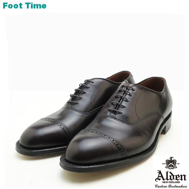 オールデン ストレートチップ  ALDEN STRAIGHT TIP BAL OXFORD 905 バーガンディ BURGUNDY ストレートチップ カーフスキン Dワイズ MADE IN USA メンズ シューズ ビジネス ドレス 靴