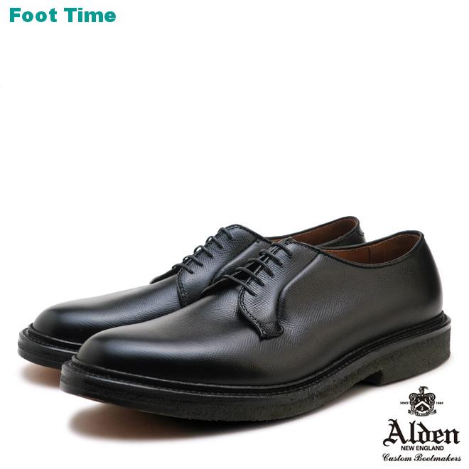 オールデン オールウェザー ウォーカー 949 ブラック ALDEN ALL WEATHER WALKER 949 BLACK プレーントゥ カーフスキン Dワイズ アメリカ製 MADE IN USA メンズ シューズ ビジネス ドレス 靴