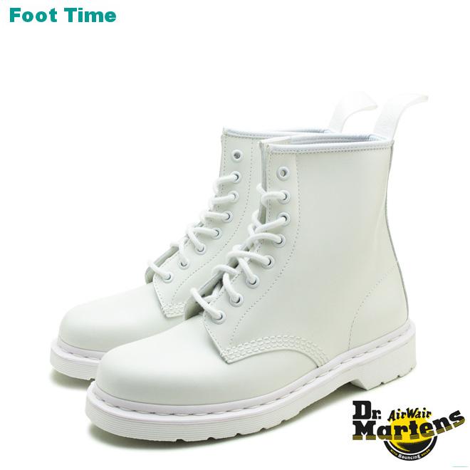 ドクターマーチン 1460 モノ 8ホールブーツ Dr.MARTENS 1460 MONO 8EYE BOOT ホワイト WHITE 14357100 メンズ レディース ユニセックス ブーツ 送料無料