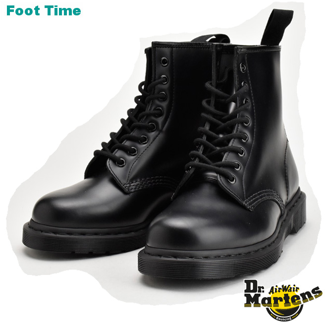 人気のDr.MARTENSより 定番モデルが入荷 日本正規代理店品 Dr.MARTENS 1460 MONO 8EYE BOOT ドクターマーチン 8ホール レディース靴 引出物 靴 BLACK R14353001 メンズ靴 ブーツ MONOブラック モノ