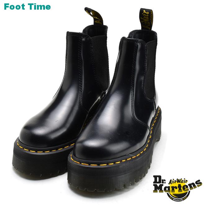 ドクターマーチン クアッド Dr.MARTENS 2976 QUAD ブラックBLACK靴 メンズ靴 レディース靴 厚底 R24687001