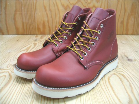 Workshop of Red Wing Classic 6 inch round toe REDWING CLASSIC WORK 6 ROUND TOE ORO RUSSET オロラセット #8166 review promises on sucker equipment gift planning underway!