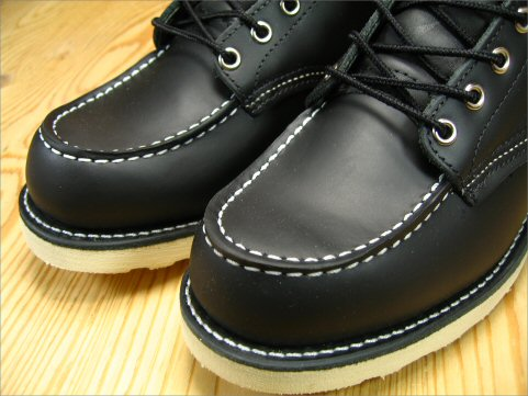 Red Wing classic work boots / モカシントゥ REDWING 6CLASSIC WORK BLACK 8179 review promise sucker supplies gift planning underway!