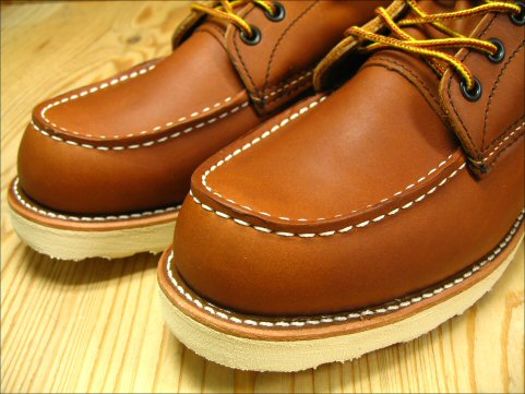 Red Wing 8 with promises of インチクラッシック work boots / モカシントゥ REDWING 8 MOC TOE BROWN 877 reviews sucker supplies gift planning underway!
