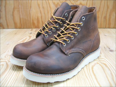 Foot Time Red Wing Classic Workshop 6 Inch Round Toe