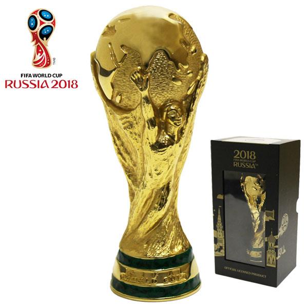 2018 FIFA ワールドカップ ワールドカップ ロシアオフィシャル トロフィー レプリカ【Lサイズ:15cm】