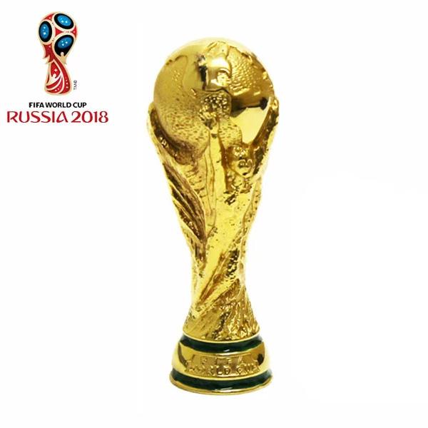2018 FIFA ワールドカップ ワールドカップ ロシアオフィシャル トロフィー レプリカ【Mサイズ:10cm】