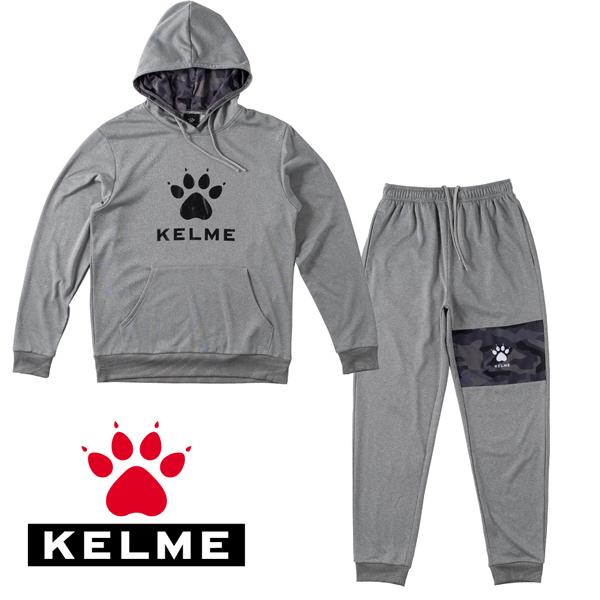 ケルメ KELME ケレメ サッカー 全店販売中 スウェットパーカー上下セット 14時迄注文は当日発送 フットサル用お買い得スウェット上下セット 即納最大半額 KCF228