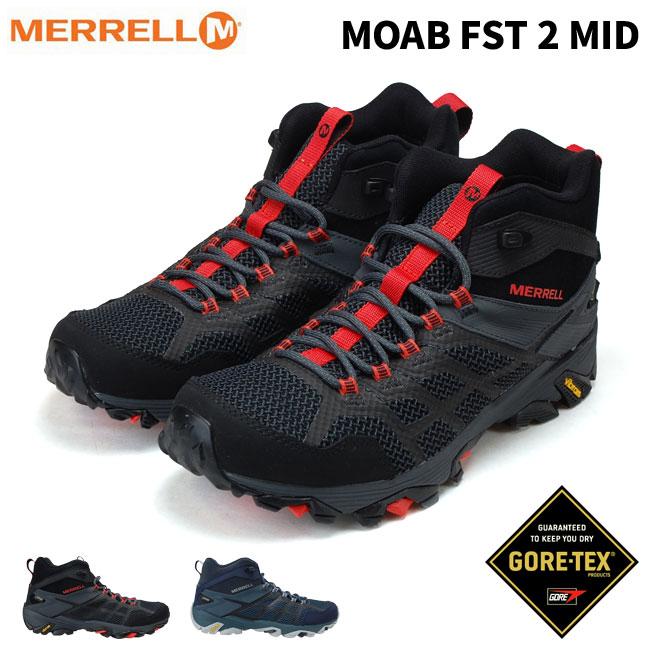 merrell moab fst 2 gore-tex pack
