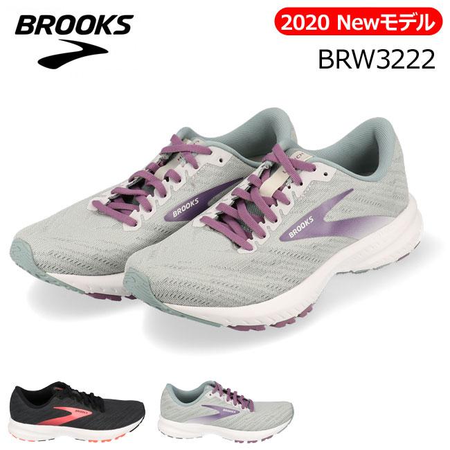 【10月10日限定3つエントリーでP14倍】[送料無料]アキレス ブルックス ローンチ7 BRW3222 レディース スニーカー BROOKS Launch7 ブラック グレー ランニングシューズ 運動靴 女性 (2001)