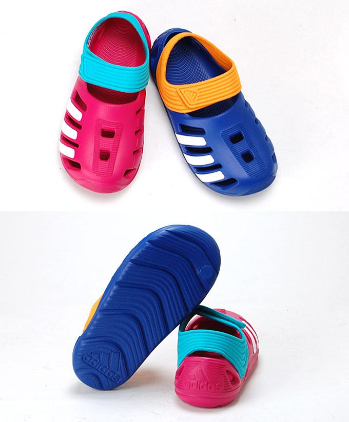 Adidas adidas ZSANDAL I (Z Sandals I baby) AF3879 AF3881 kids Sandals pink blue