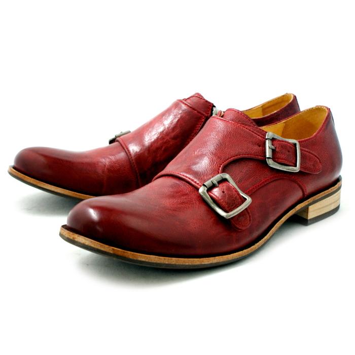 Rudi 鞋休闲 RAUDI 双和尚 R52102 [红色] 男士男士鞋男装 2015SS
