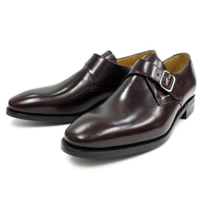 Berwick 靴 バーウィック モンクストラップシューズ 2685 バーガンディー ダイナイトソール スペイン製 ビジネスシューズ メンズ 本革 送料無料 【あす楽対応】 【コンビニ受取対応】