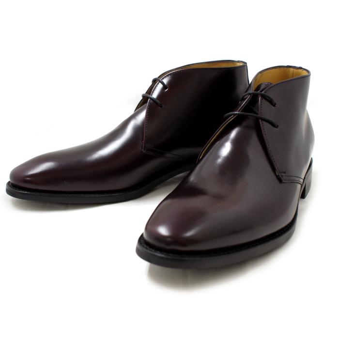 バーウィック Berwick 849 チャッカブーツ ≪ダイナイトソール≫ ビジネスシューズ  バーガンディー メンズ スペイン製 ブランド 紳士靴 本革 革靴 ビジネスシューズ 【送料無料】【あす楽対応】【コンビニ受取対応】