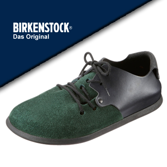 f57990c85702 It is easy to wear BIRKENSTOCK [ビルケンシュトック] Montana (Montana) 099491 Forest  / black genuine leather regular article shoes men men's