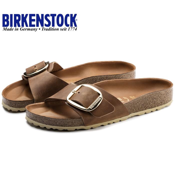 edf574f7ef7 ビルケンシュトックレディースマドリッド regular article BIRKENSTOCK MADRID BIG BUCKLE leather  1006525 [cognac] sandals ...