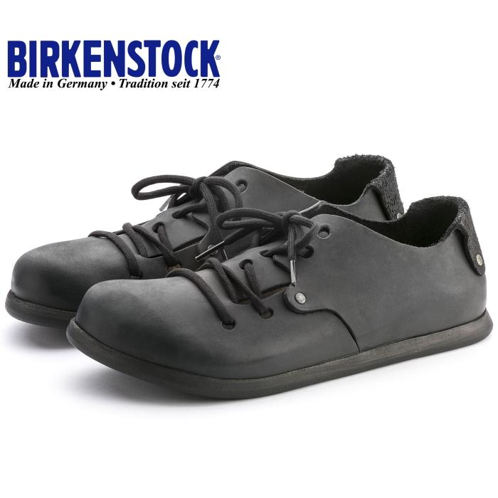 9d43378a4505 199261 / 199263 MONTANA, genuine, BIRKENSTOCK, Birkenstock Montana oiled  black mens ladies wide ...