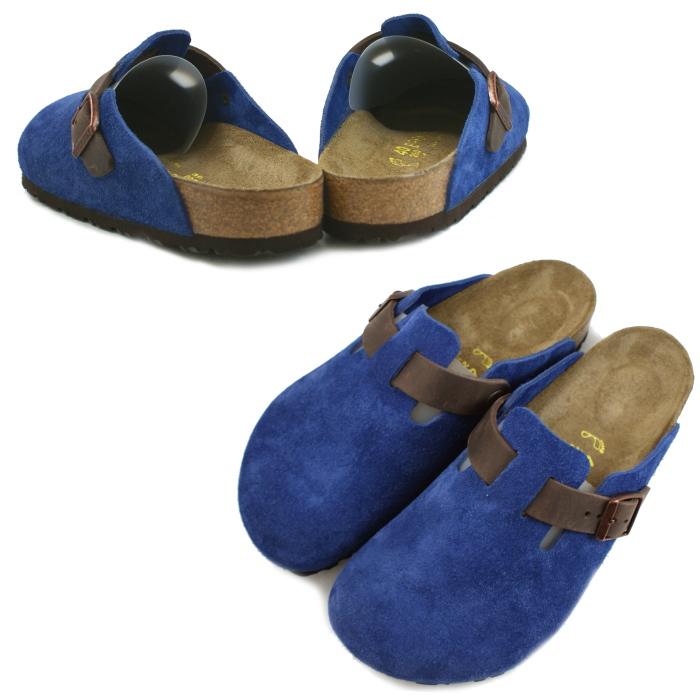 Birkenstock Boston sandal BIRKENSTOCK BOSTON 259671 (Mazarin blue/Havana) wide / normal width genuine birken-stuck for men MEN's BIRKEN STOCK Sandals 2014 Winter