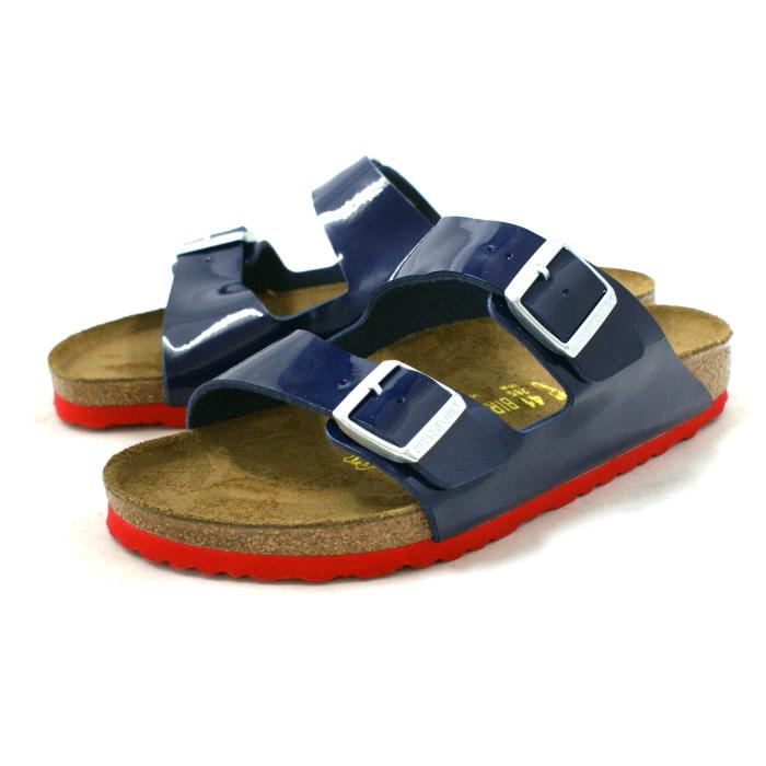 勃肯亚利桑那真正勃肯亚利桑那 652661 [连衣裙 Bulue] 专利凉鞋男装蓝色 vilken 卡 vilken 鞋店 2015 SS
