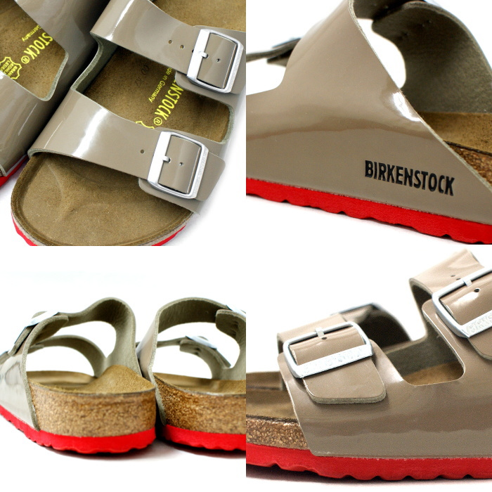 birukenshutokkuarizona正规的物品BIRKENSTOCK ARIZONA 65万2671[Lack Fossil]专利凉鞋人大楼肯·shutokkubiruken 2015SS