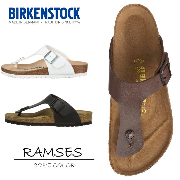 1728e731c28 Birkenstock Ramses genuine BIRKENSTOCK RAMSES staple color Sandals mens  Womens white / black / brown birken and stuck vilken shoe store pettanko ...