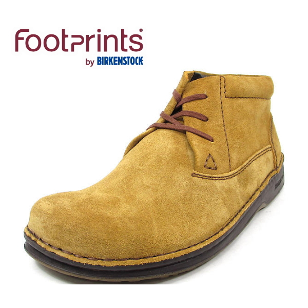 4c55d0099df0 Footprints  footprint  by ○○ ビルケンシュトックメンフィス Memphis HI brown suede (419461  wide normal) フットプリンツ genuine leather leather men びるけん ...