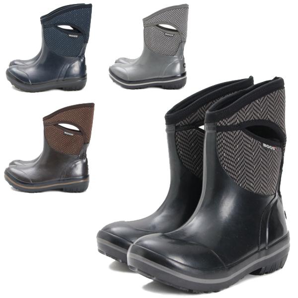 79742f6b051 bogs Bogs PRIMSOLL HERRINGBONE MID 71414 Prime sole herringbone mid 100%  fully waterproof boots