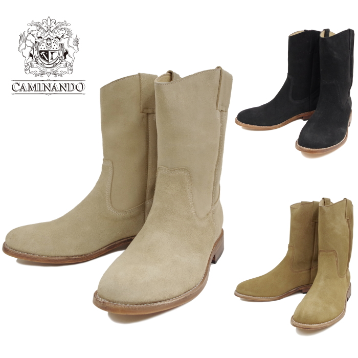 5c1b9cc4734 Caminando Caminando LOPER BOOTS 16117 Roper boots men's boots Roper Pecos  Western suede leather sole