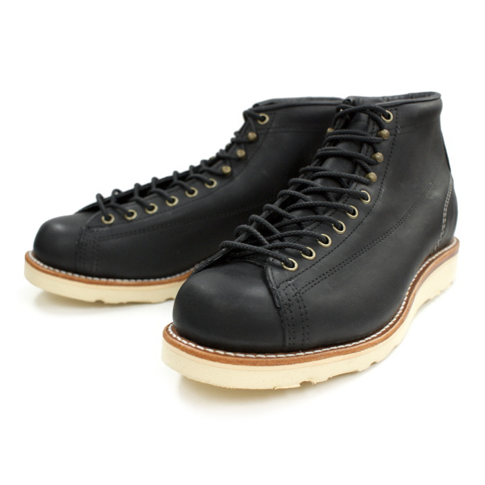チペワ ブーツ CHIPPEWA 1901M34 5-inch Bridgeman [Black] ブリッジマン 正規品 保証書付 メンズ ワークブーツ アメリカ製 送料無料【コンビニ受取対応】