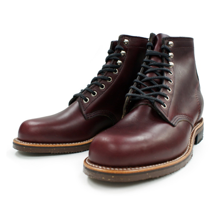 Chippewa boots CHIPPEWA 4353BUR 1939 6-inch Service Utility Boots [Burgundy] planet lace-up genuine warranty certificate with men's work boot made in USA