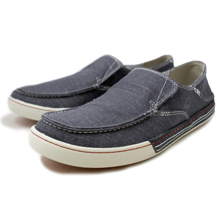 Clarks men's slip-on Clarks SLATEN FREE 323E [blue] casual shoes canvas  shoes men's slip-on shoes store 2014 spring summer new