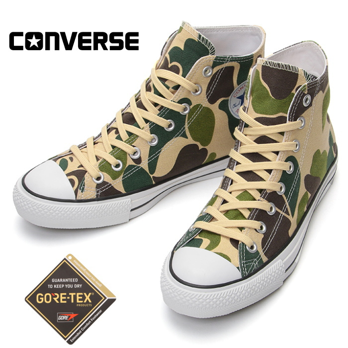 0484e1bc7ca9 ... ○○ Model CONVERSE ALL STAR 100 GORE-TEX PT HI all-stars Gore-Tex  perfection waterproofing camouflage camouflage pattern 83 duck higher  frequency ...