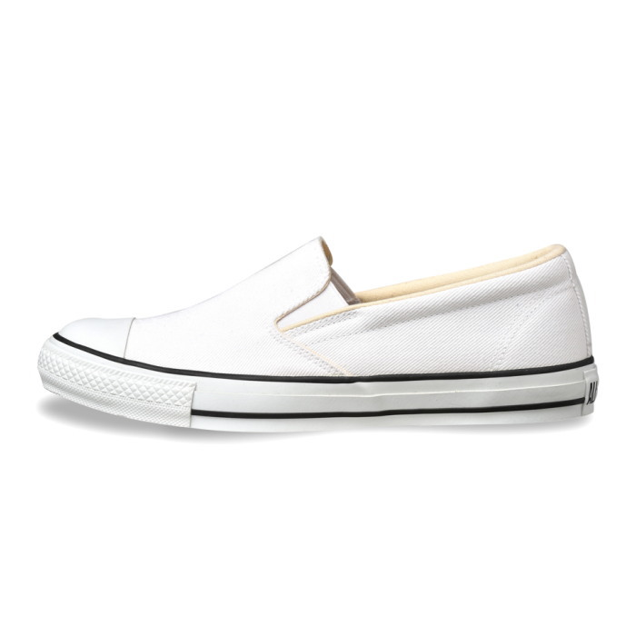 cd5c27718abd ... ○○ Converse slip-ons CONVERSE ALL STAR COLORDENIM SLIP-ON  white  all- stars color denim slip-on sneakers men gap Dis low-frequency cut shoes  men s ...