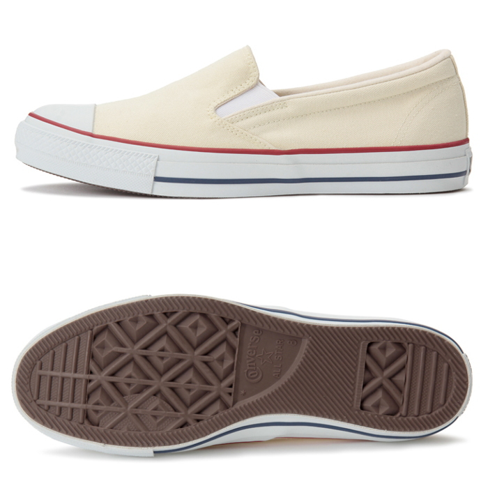 ?? Converse slip ons CONVERSE ALL STAR COLORS SLIP ON all stars colors slip on [white] sneakers Lady's men slip on low frequency cut shoes slip on