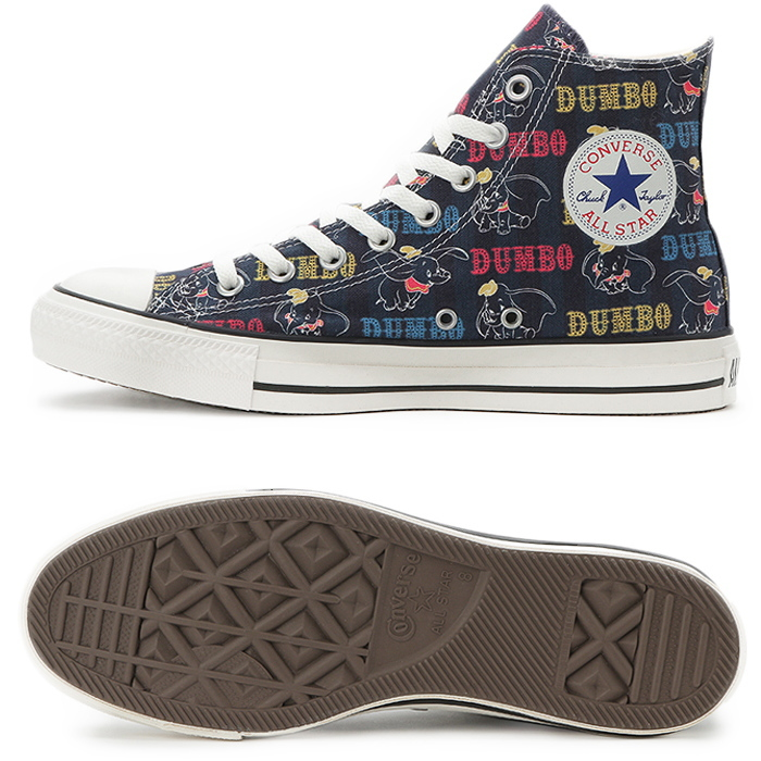 CONVERSE ALL STAR DUMBO PT HI Converse all stars higher frequency elimination Dumbo Disney sneakers men gap Dis regular article 2019 spring and summer