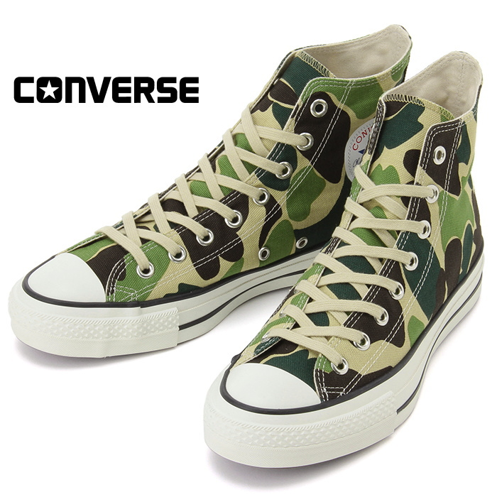 bda4a71c5331ee CONVERSE ALL STAR J 83CAMO HI regular article men sneakers higher frequency  elimination camo camouflage camouflage camouflage domestic production 2017  new ...